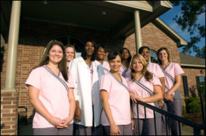 Staff Members of the Franklin Dental Center in Tyler Texas.