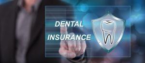 Dental insurance screen at dentist in Tyler.